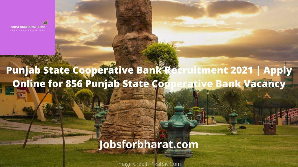 Punjab State Cooperative Bank Recruitment 2021